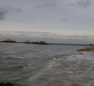 Island Breach on Fire Island 11/01/12