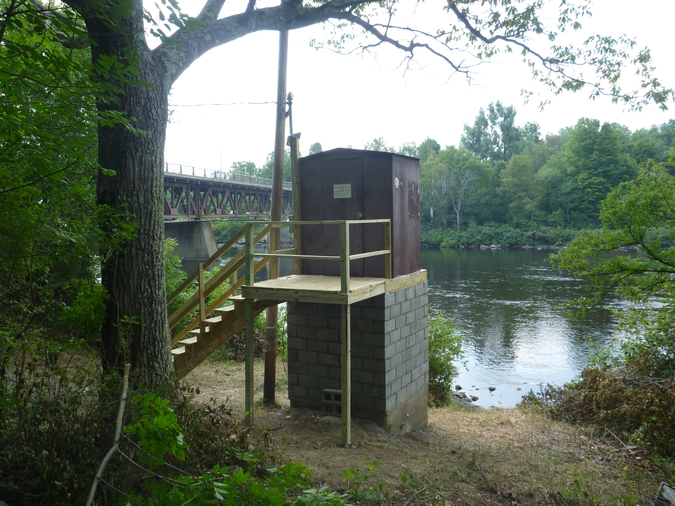 Photo of station on HUDSON RIVER AT NORTH CREEK NY