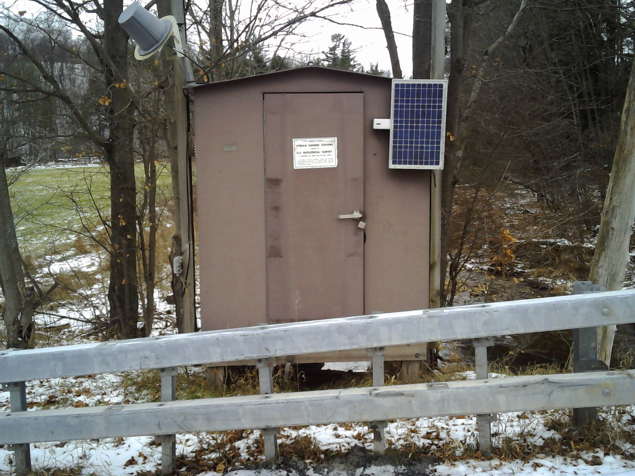 Photo of station on TOWN BROOK SOUTHEAST OF HOBART, NY
