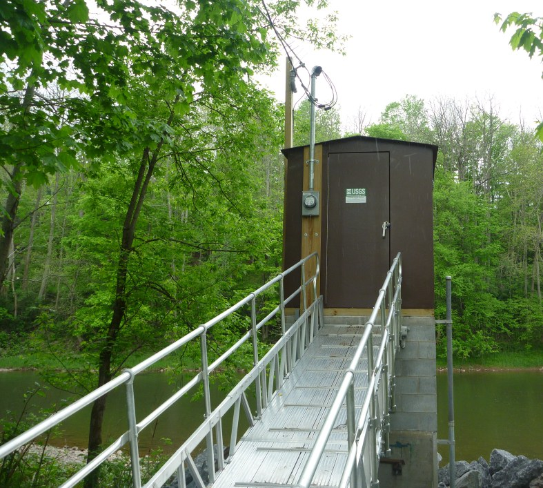 Photo of station on WEST BRANCH DELAWARE RIVER AT WALTON, NY