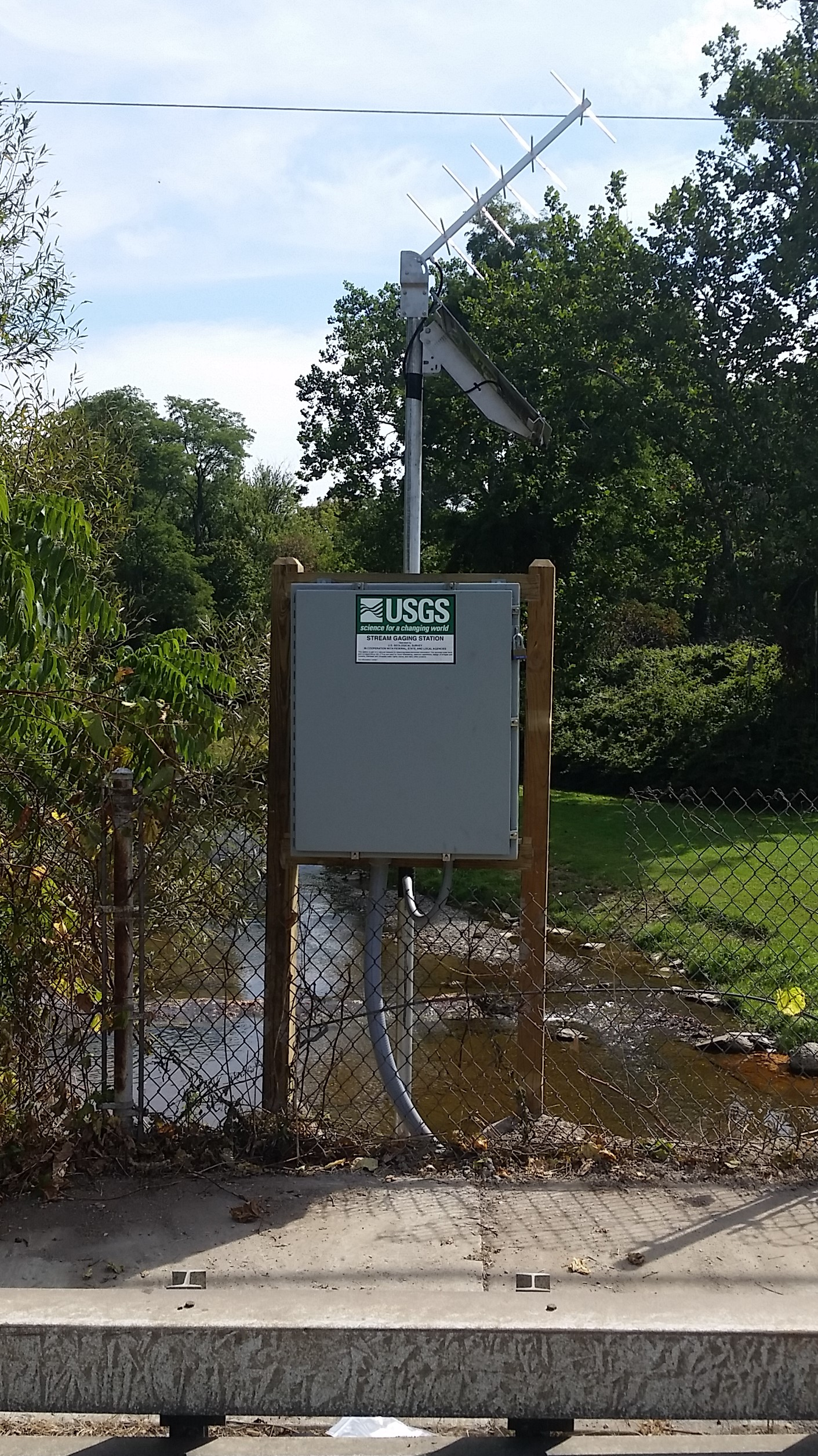Photo of station on BIG SISTER CREEK AT EVANS CENTER, NY