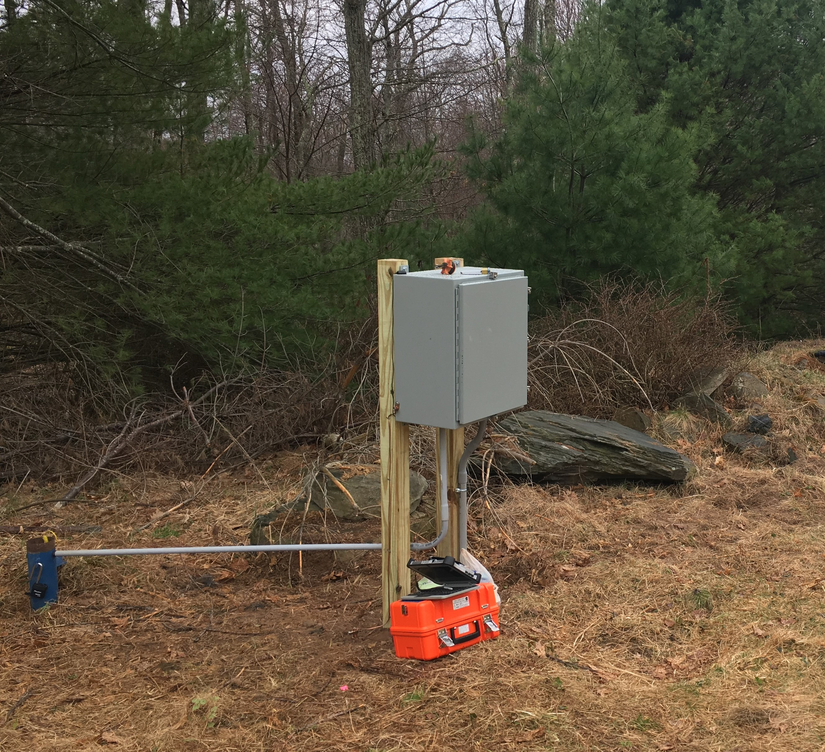 Photo of station on LOCAL NUMBER, SV-568, NEAR GLEN SPEY NY